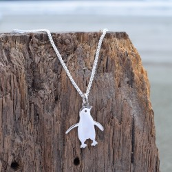 Medium penguin pendant