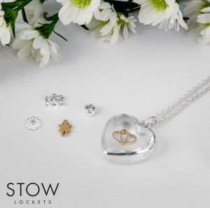 STOW heart locket