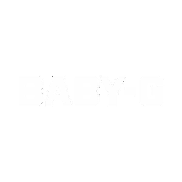 Baby-G logo white