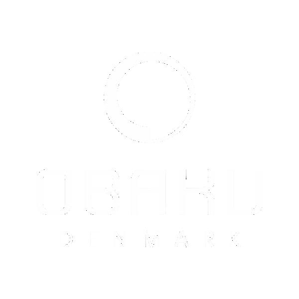 Obaku watches logo white