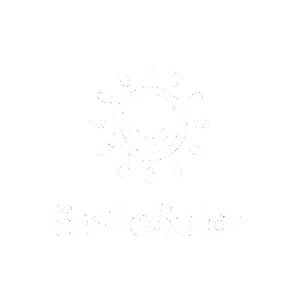 SmileSolar logo white