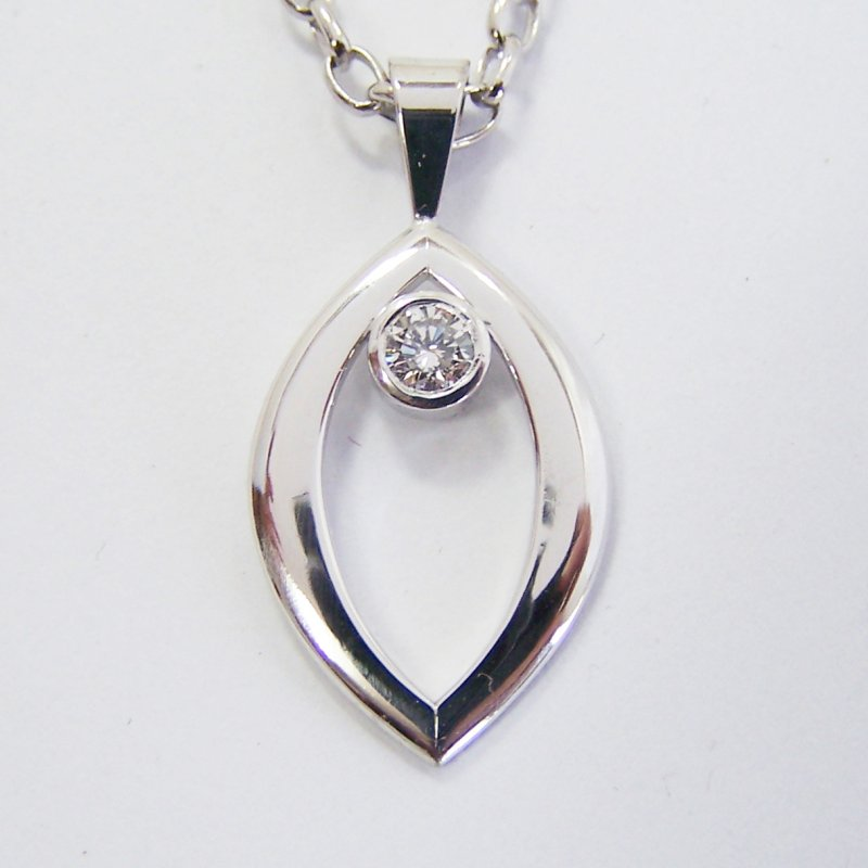 Diamond pendants the ringmakers jewellers timaru custom made 21099 aloadofball