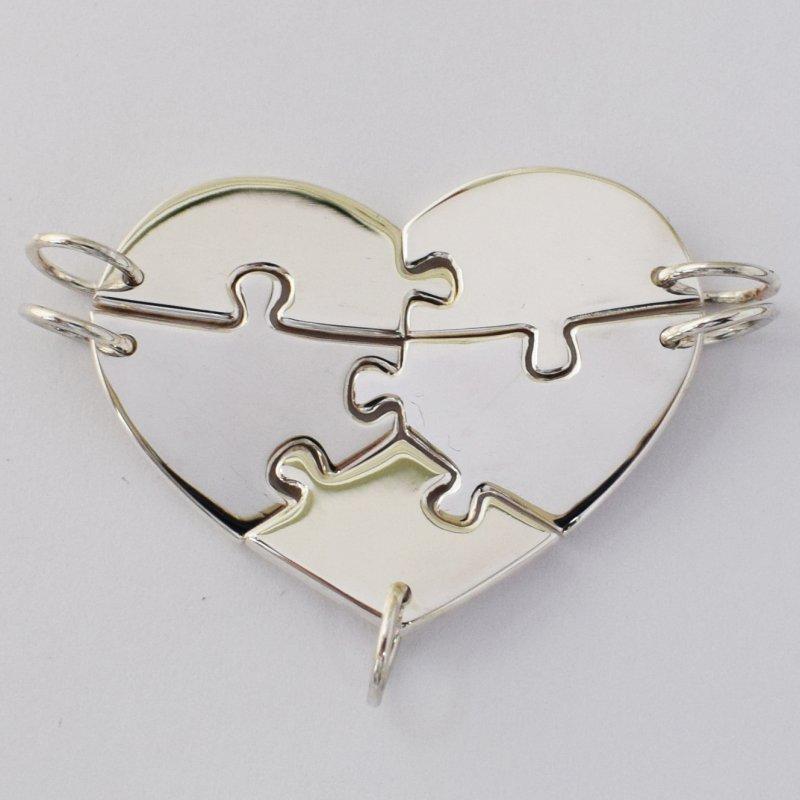 Multi piece heart